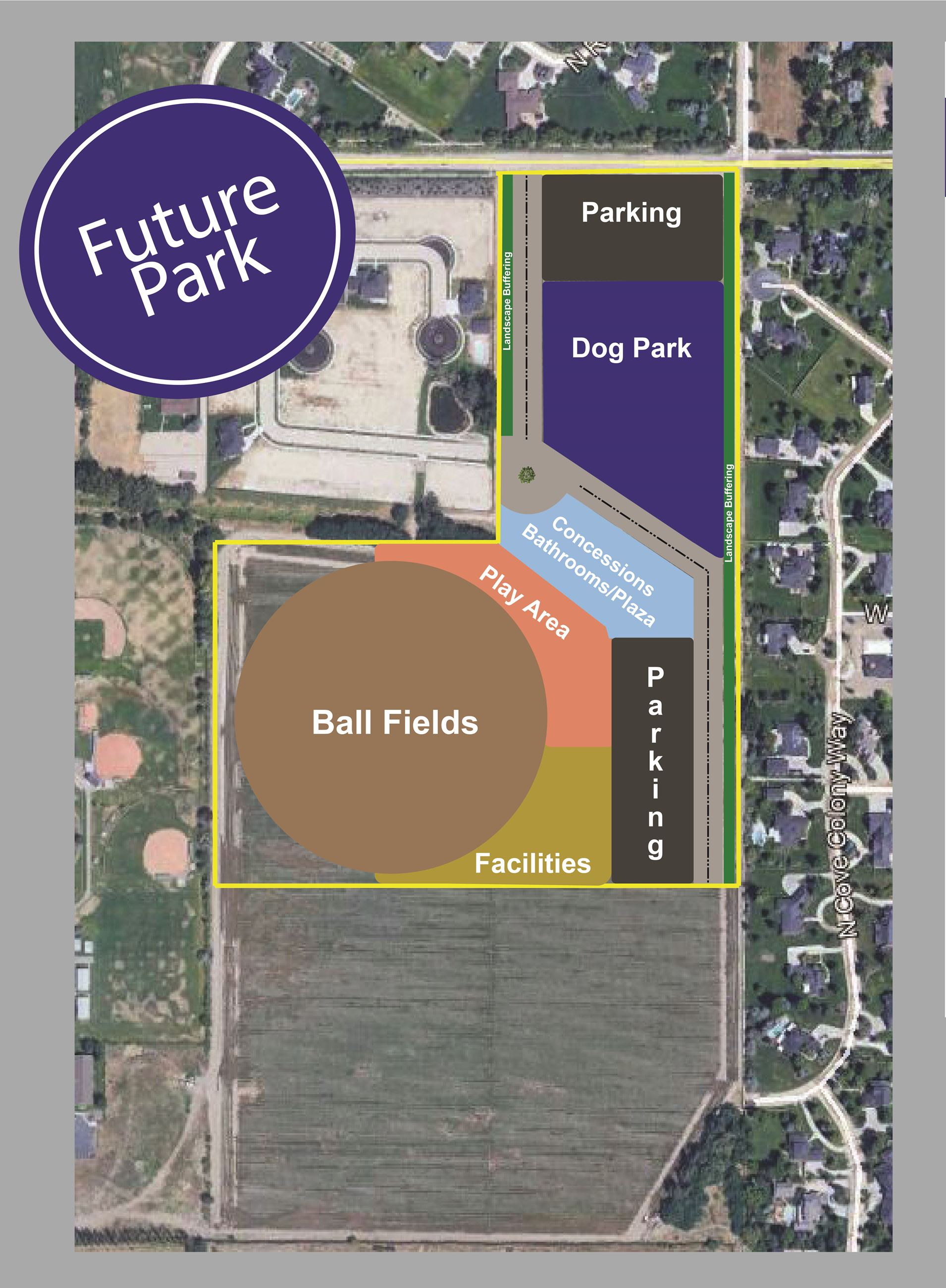 West Park - Future Park Map