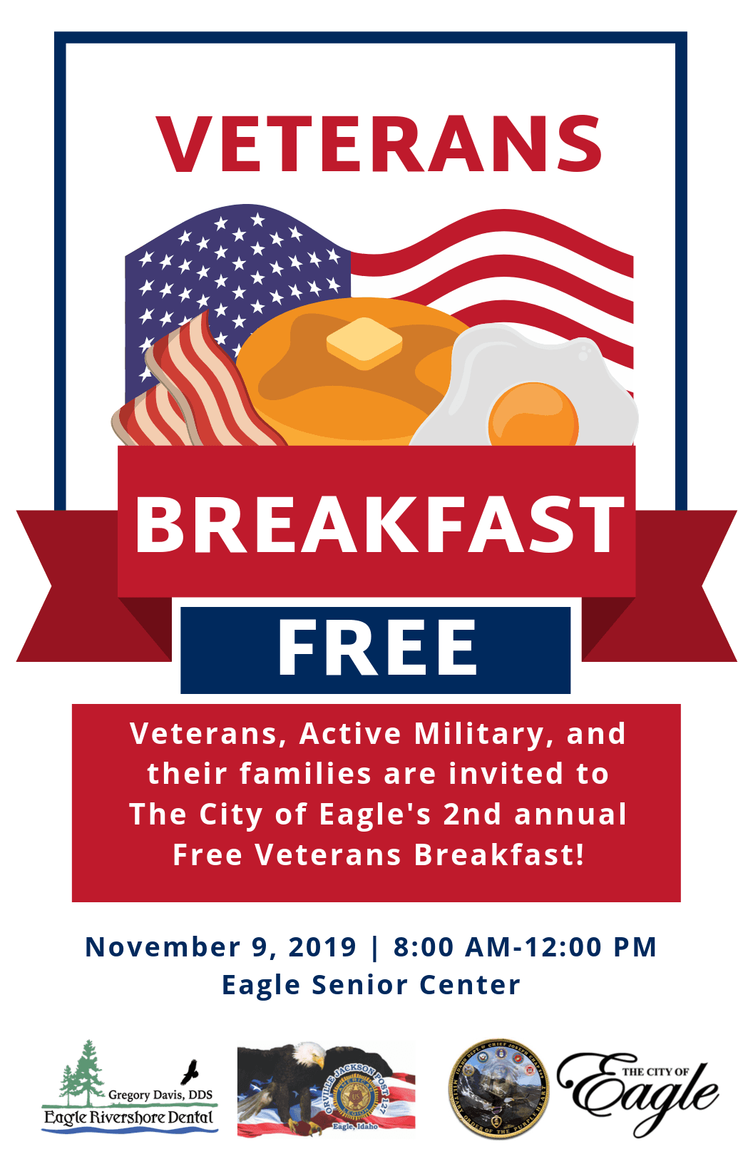 Veterans Breakfast Poster