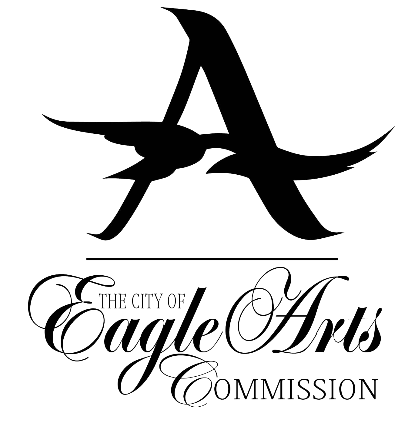 Eagle Arts Commission Logo