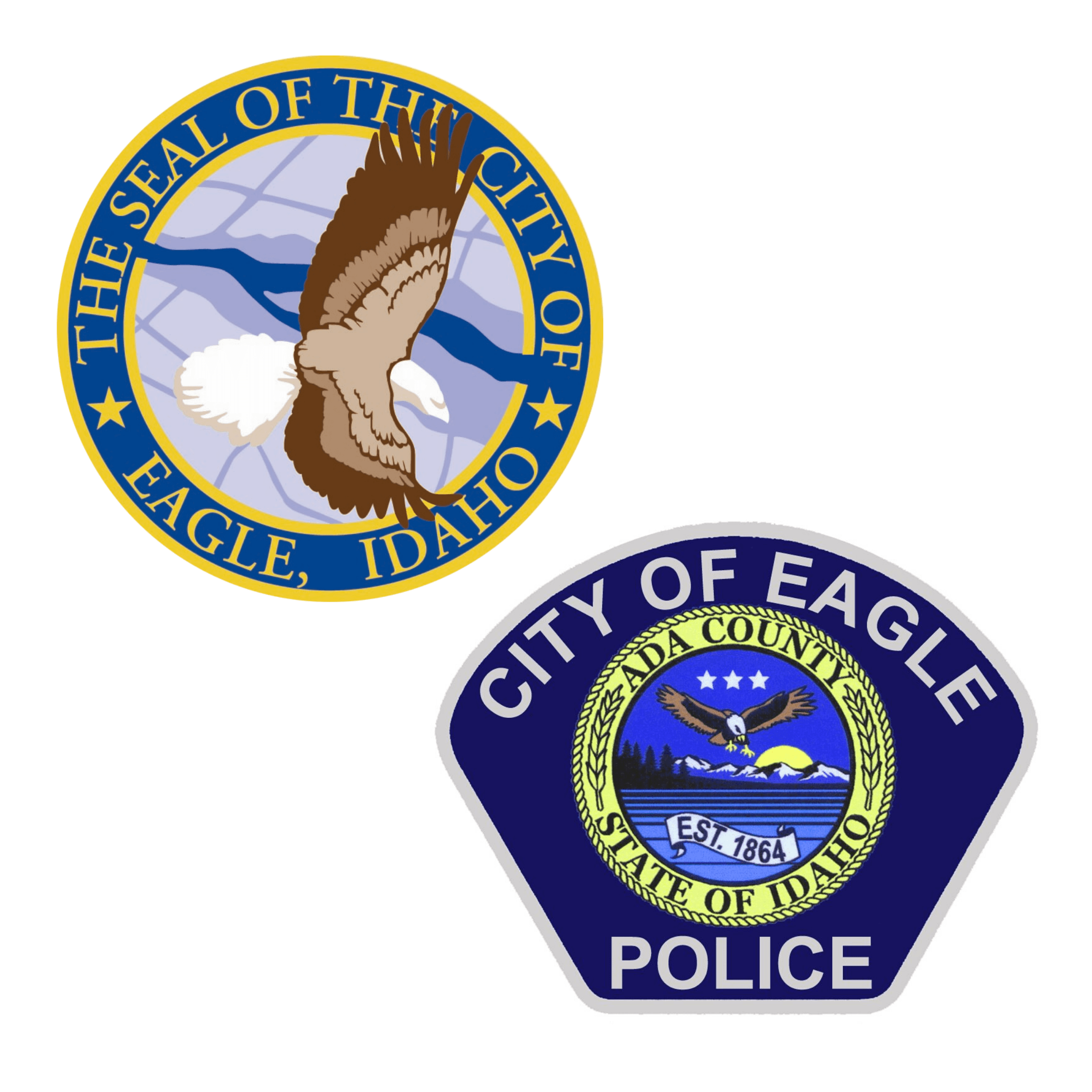 City of Eagle and Eagle Police Seals
