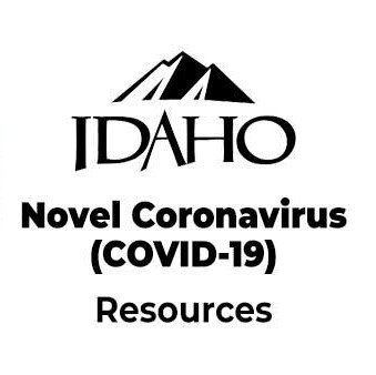 idaho coronavirus website logo