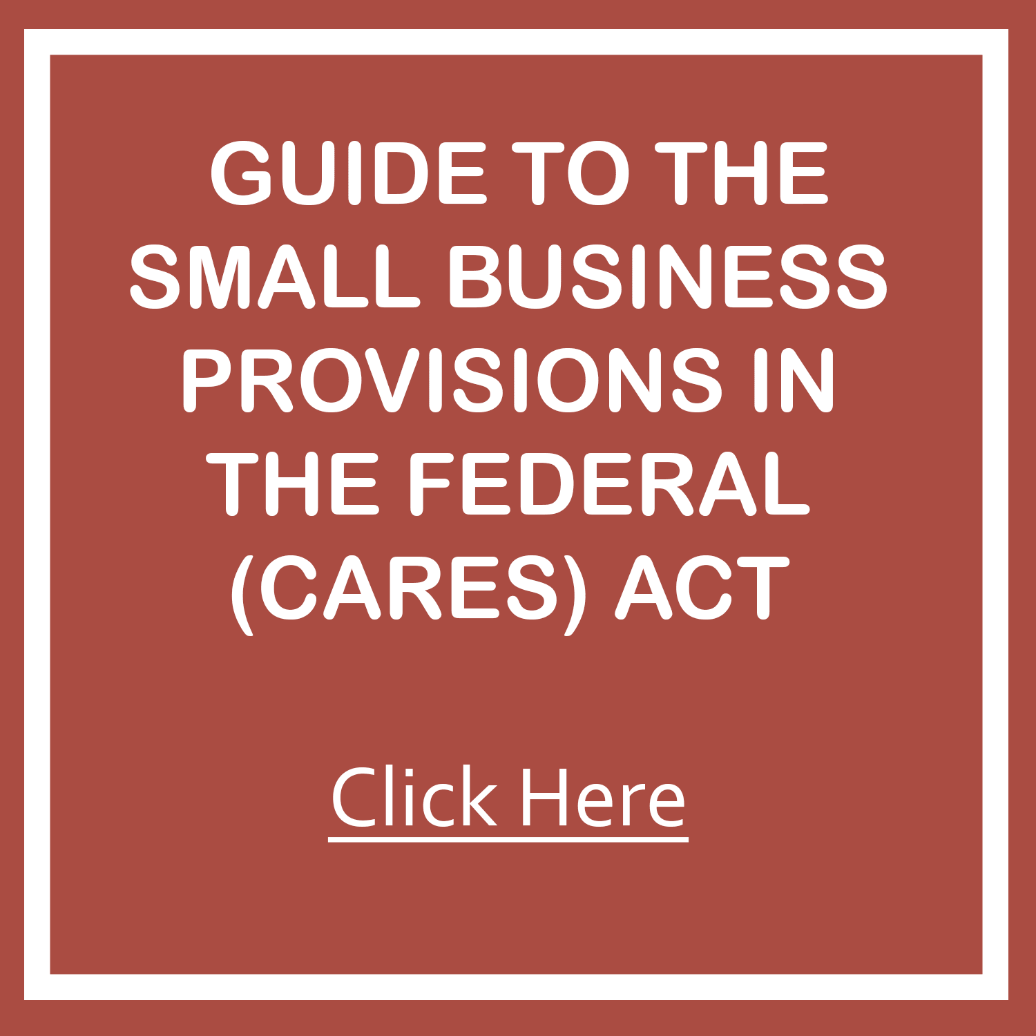 GUIDE FOR CARES ACT