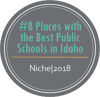 Number 8 Places with Best Public Schools in Idaho Niche, 2018
