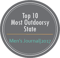 Top 10 Most Outdoorsey State Mens Journal, 2017
