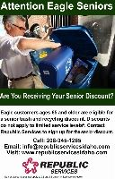 Republic Services Senior Discount Flyer (PDF)