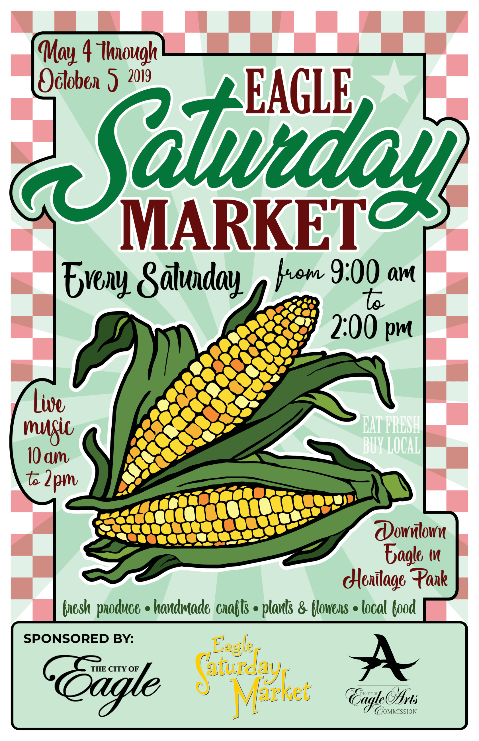 2019 Eagle Saturday Market Poster Winner